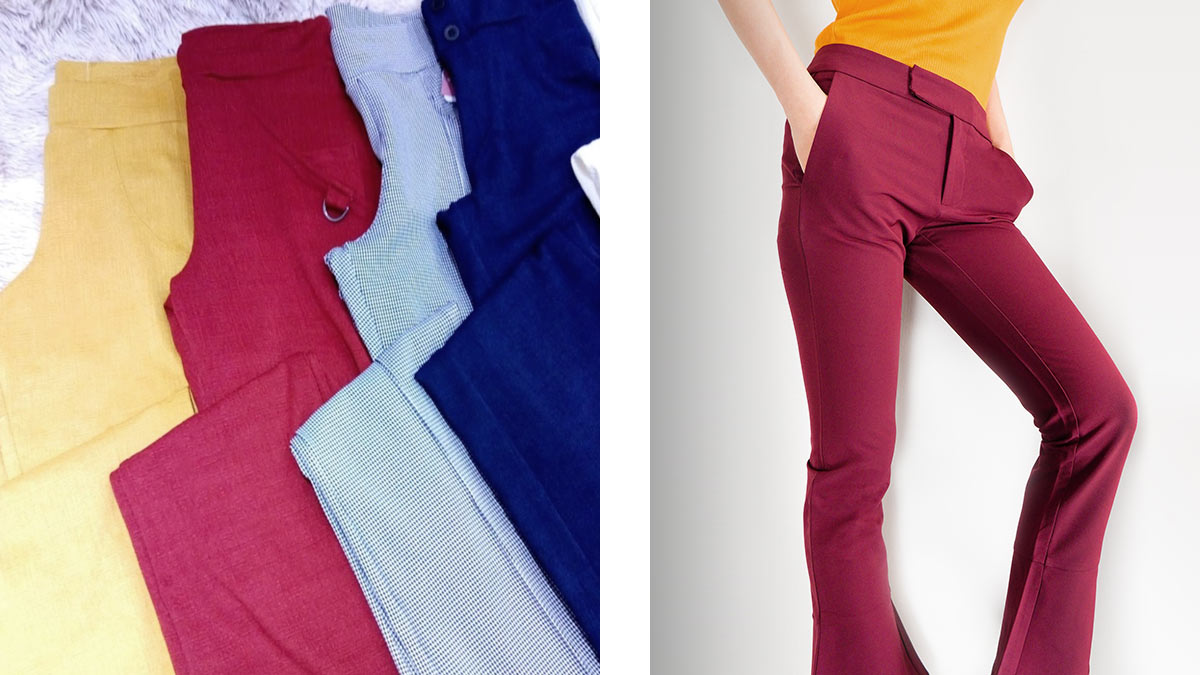 tendências de calças para a moda outono-inverno
