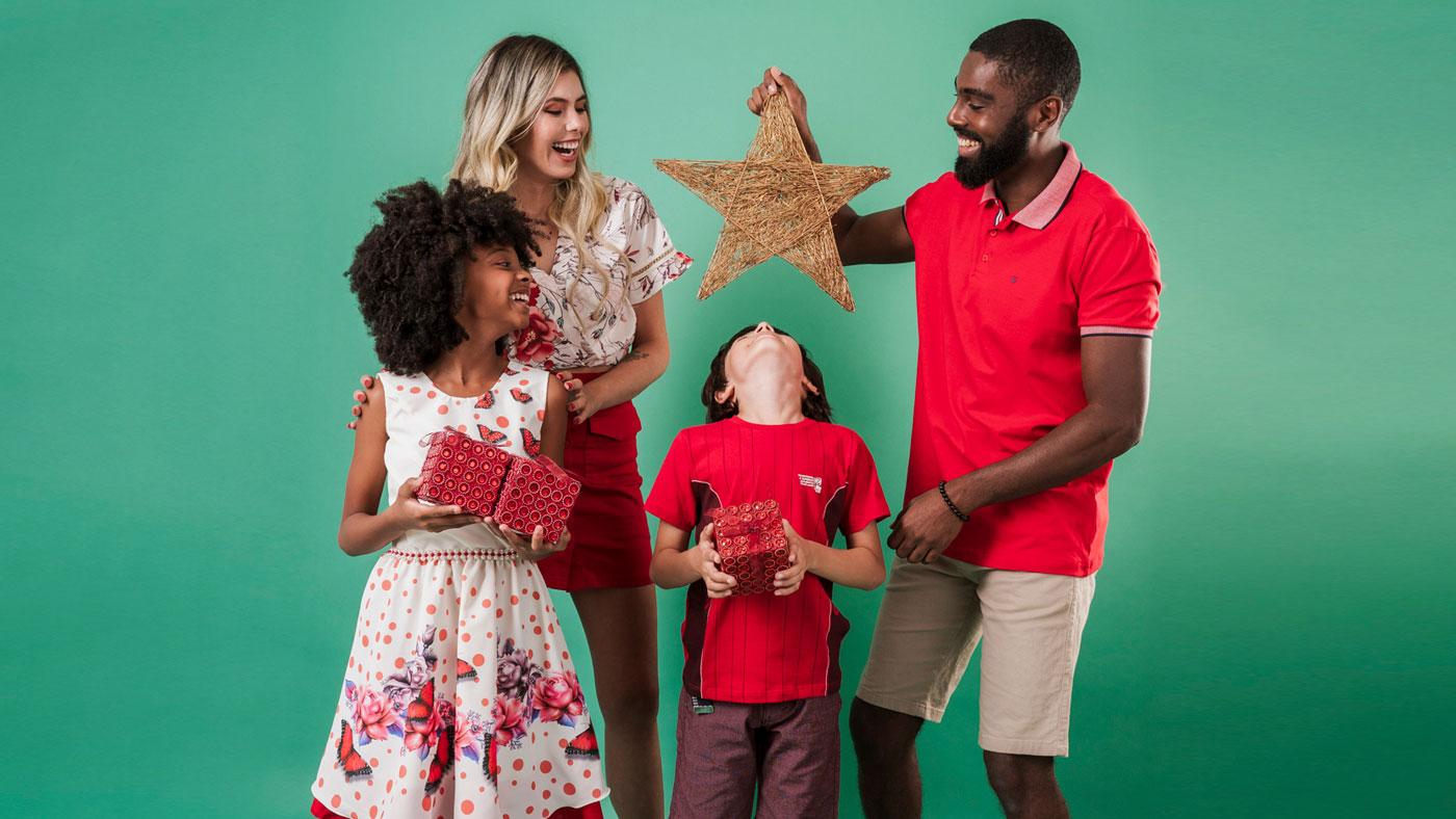 Natal em família: dicas de presentes e roupas para usar