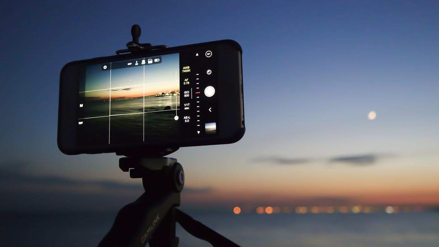 Uso de tripe e exemplo de regra dos terços na fotografia
